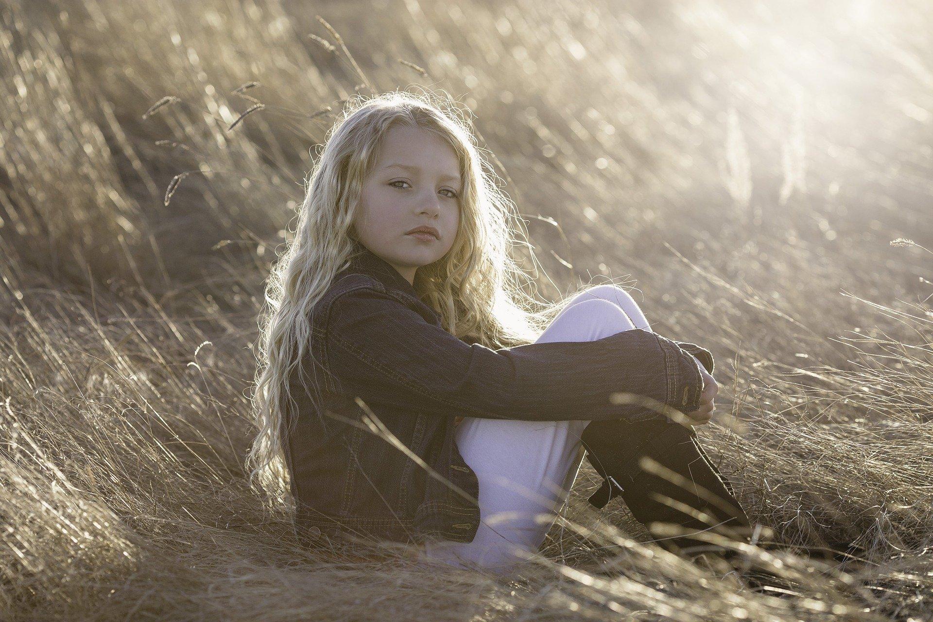 Lief gevoelig meisje van bijna 9 jaar